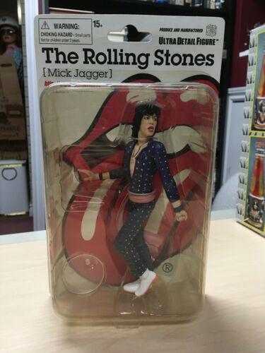 "Medicom UDF Rolling Stones 1970s Mick Jagger MOC Sealed 2009 7"" Figure Toy"
