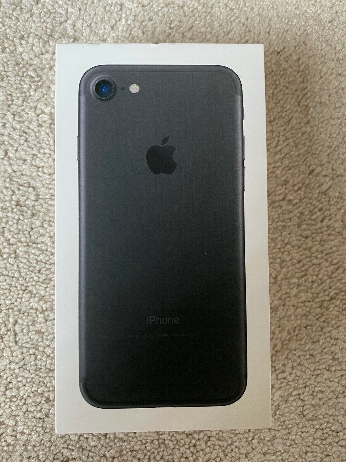 Apple iPhone 7 - 32GB - Black (Boost Mobile) A1660 (CDMA + GSM)