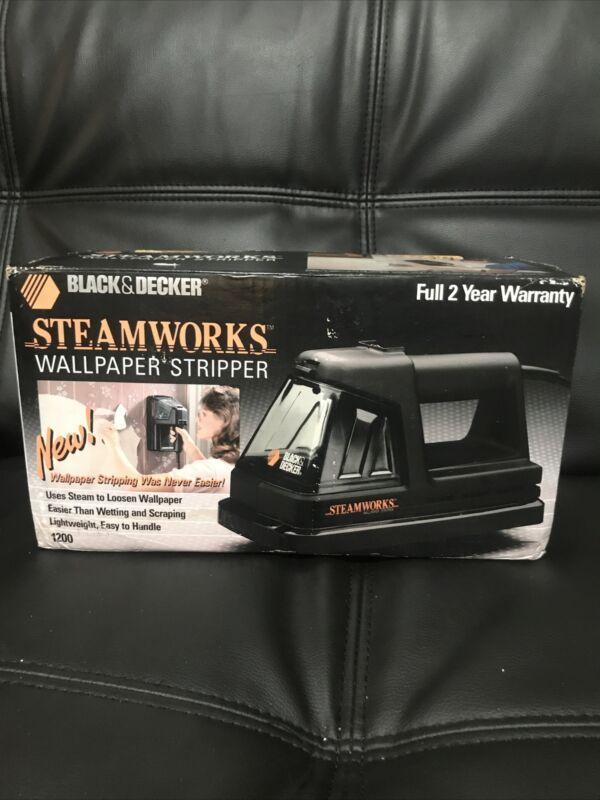 Black & Decker Steamworks 1200 Wallpaper Stripper, With Box&Manual