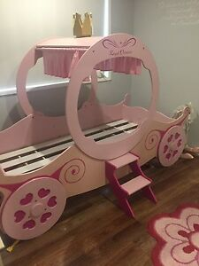 Single princess carriage bed Helensvale Gold Coast North Preview