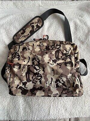 Puma Camoflauge Satchel Style Bag