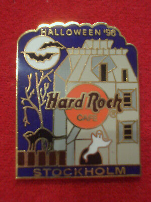 HRC Hard Rock Cafe Stockholm Halloween 1996 Hounted House LE750 ()