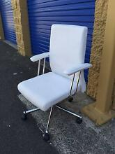 White Leather Office Chair Hillsdale Botany Bay Area Preview