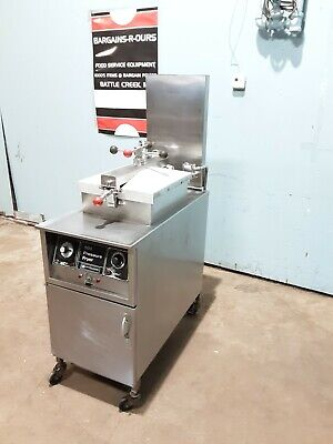 Henny Penny Model 500 Nsf 208v 3 Electric Pressure Fryer With Oil Filter