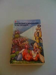 INDECENT EXPOSURE TOM SHARPE⁄PAPERBACK G.C. Humour Vintage South Perth South Perth Area Preview