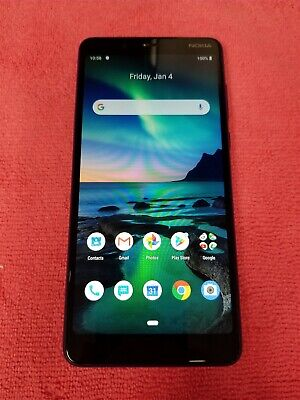 Nokia 3.1 Plus 32GB Blue TA1124 (Cricket Wireless) Android Smartphone GD137