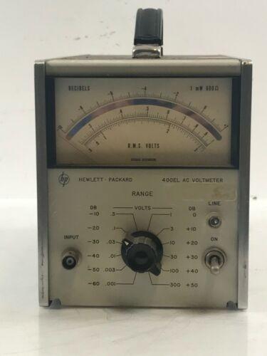HP/Hewlett Packard 400EL AC Volmeter