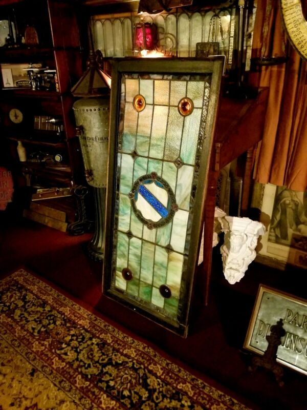 Architectural Salvage Massachusetts Residential Antique Stained Glass