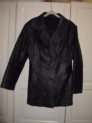 C&A 'CANDA' Woman Vintage Leather coat in Good condition 14