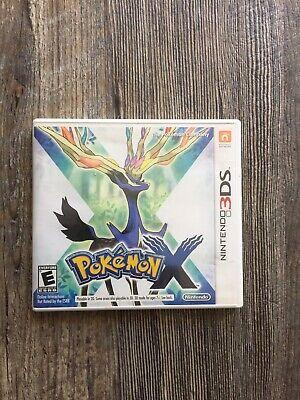 Pokemon X Nintendo 3DS, 2013 Complete in Box Video Game