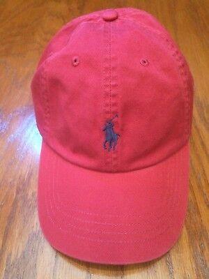 POLO RALPH LAUREN DARK CHILI PEPPER CLASSIC 6 PANEL HAT COTTON TWILL SPORTS CAP](Chili Pepper Hats)