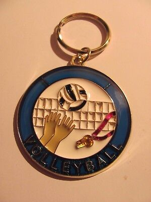 Volleyball Key Chain Brand New  (Volleyball Keychains)