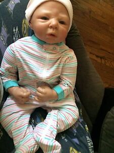 Reborn doll in pretty good condition still available