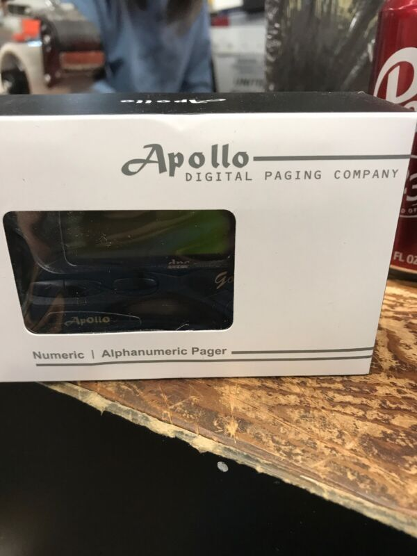 Apollo Gold AL-A25S T60 Alpha Numeric Display Hand Programmable Pager *NEW*
