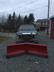 2008 f250 with vblade plow