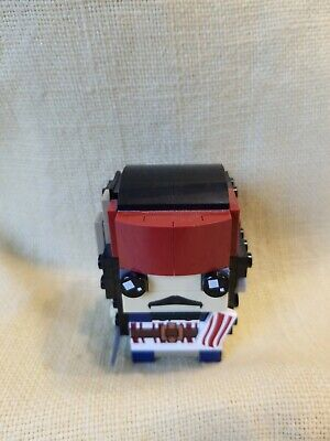 LEGO 41593 BRICK HEADZ ~ CAPTAIN JACK SPARROW ~ 109 PIECES - 100% COMPLETE