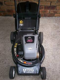 BRIGGS STRATTON 4 STROKE,SERVICED VICTA LAWN MOWER.CATCHER. Runcorn Brisbane South West Preview