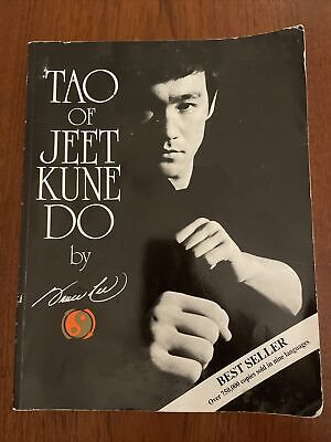 Tao of Jeet Kune Do by Bruce Lee Paperback 2007 Reprint Martial Arts