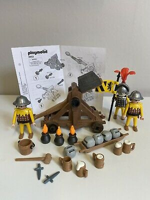 Playmobil 3653 Knights Catapult Castle Set Magic Complete