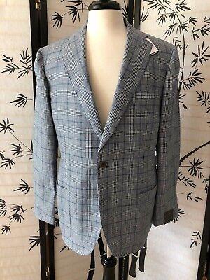 Nwt  995 Eidos Napoli Mens Silk Wool Balthazar Blazer Sport Coat Sz 42R
