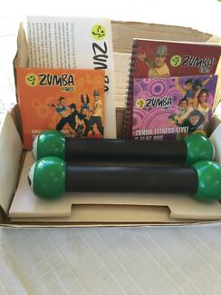 Zumba exercise dvds set