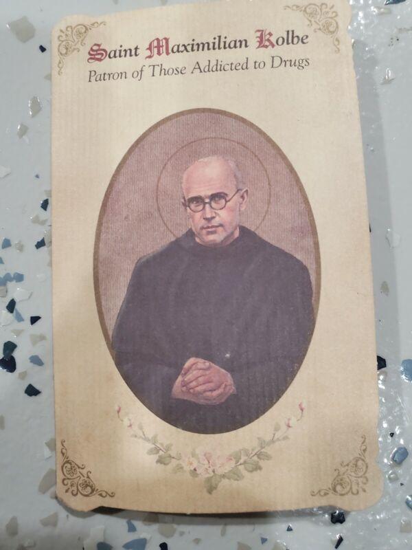 St Maximilian Kolbe Patron of Those Addicted to Drugs