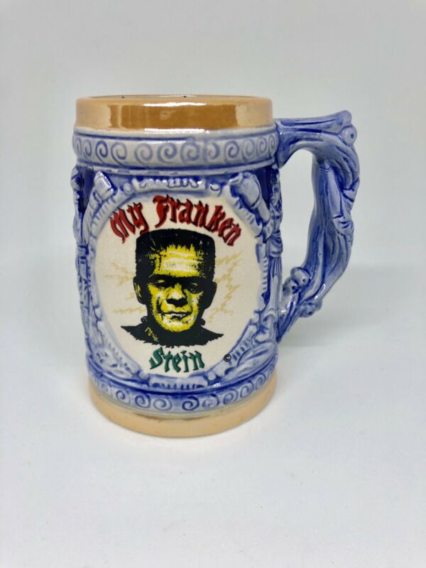 Vintage My Fraken Stein German Inspired Beer Mug 1960's