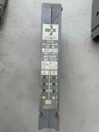 AB24 ITE Gould Auxiliary Switch