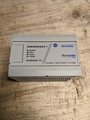 Allen Bradley 1761-l16bwa Ser E Frn 1.0 Micrologix 1000 Base Unit