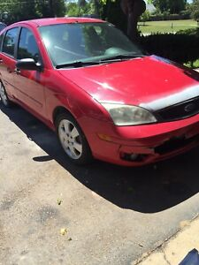 2005 Ford Focus hatch 5speed