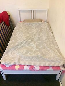 IKEA FJELLSE Single Bed (Mattress + Bed Frame + Slats) Pagewood Botany Bay Area Preview