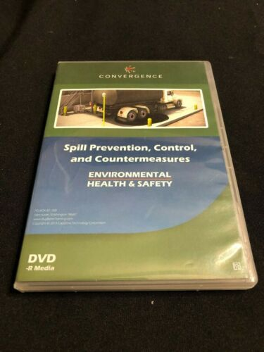 Convergence Spill Prevention, Control and Countermeasures Training DVD SKU 209