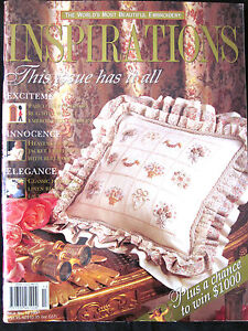 ~INSPIRATIONS Embroidery Smocking Magazine Issue # 13 1997 - VGC~