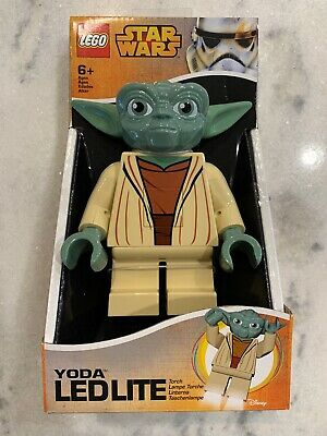LEGO Star Wars YODA LED LITE Torch Kids Night Light Flashlight TOB6T New