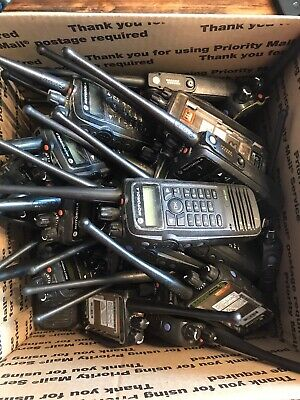 1 Motorola Xpr 6550 Uhf Mototrbo Dmr Digital Two-way Radio