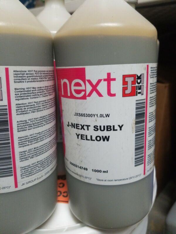 J-Teck J-Next Subly Yellow Ink, 1 Liter