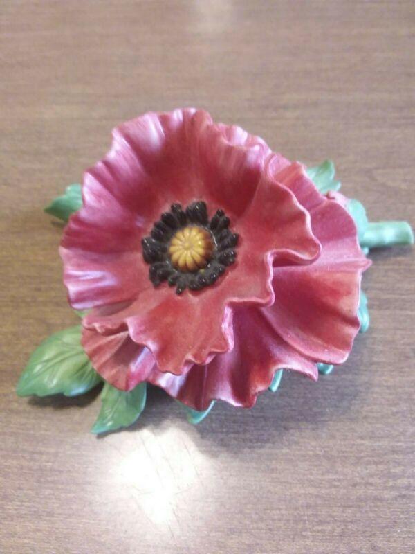 Lenox Red Poppy
