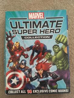 MARVEL, ULTIMATE SUPER HERO COMIC COLLECTION