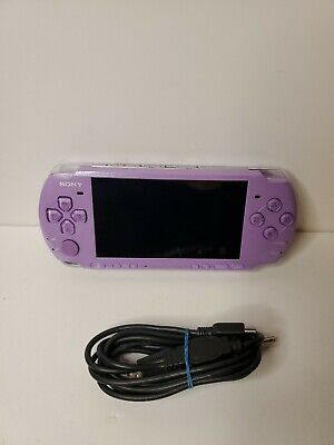 Sony PSP 3000 Hannah Montana Entertainment Pack Lilac Handheld System [Tested]