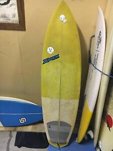 """6'0"""" X Flex Surfboard Fairlight Manly Area Preview"""