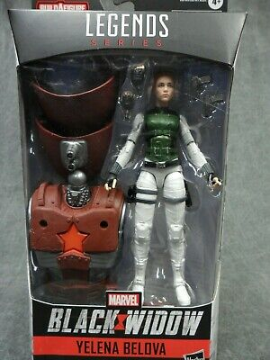 Marvel Legends NEW * Yelena Belova * Black Widow BAF Crimson Dynamo Figure