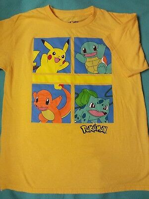 Pokemon ~Pikachu and Others ~T Shirt Boys or Girls ~Size L (Pikachu Girl Or Boy)