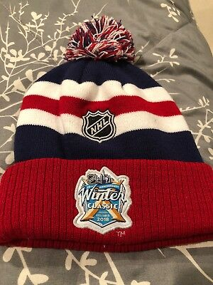 Winter Classic 2018 Knit Hat Youth NHL Apparel 10th Anniversary