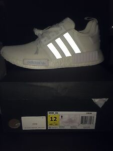 Nmd R1 triple white US12 Wollstonecraft North Sydney Area Preview