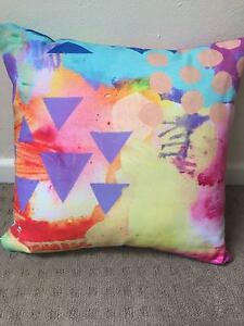 Designer cushion by artist Kezz Brett - as new, never used Northbridge Willoughby Area Preview