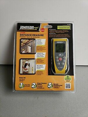 Johnson Laser Distance Measure 40-6001 116 At 165 New