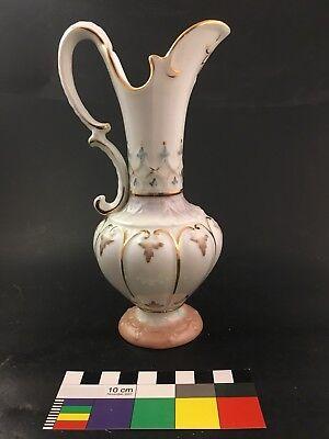 Antique RORSTRAND Porcelain Ewer Jug Vase Pitcher Art Pottery Nouveau Gothic