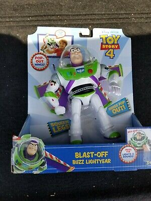 New Disney Pixar Toy Story Blast-Off Buzz Lightyear Figure, 7""