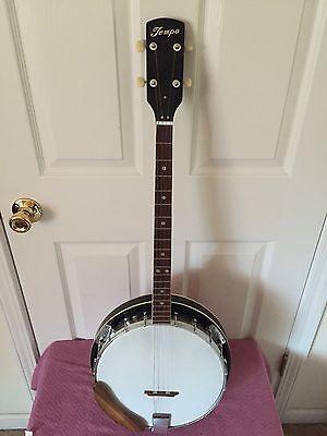 vintage banjo made in japan ( 4 string )