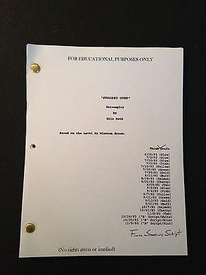FORREST GUMP Oscar Winning Screenplay by ERIC ROTH Final Shooting Script 12/9/93